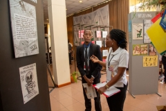 Tour-of-abrdged-HIV-exhibition-at-conference