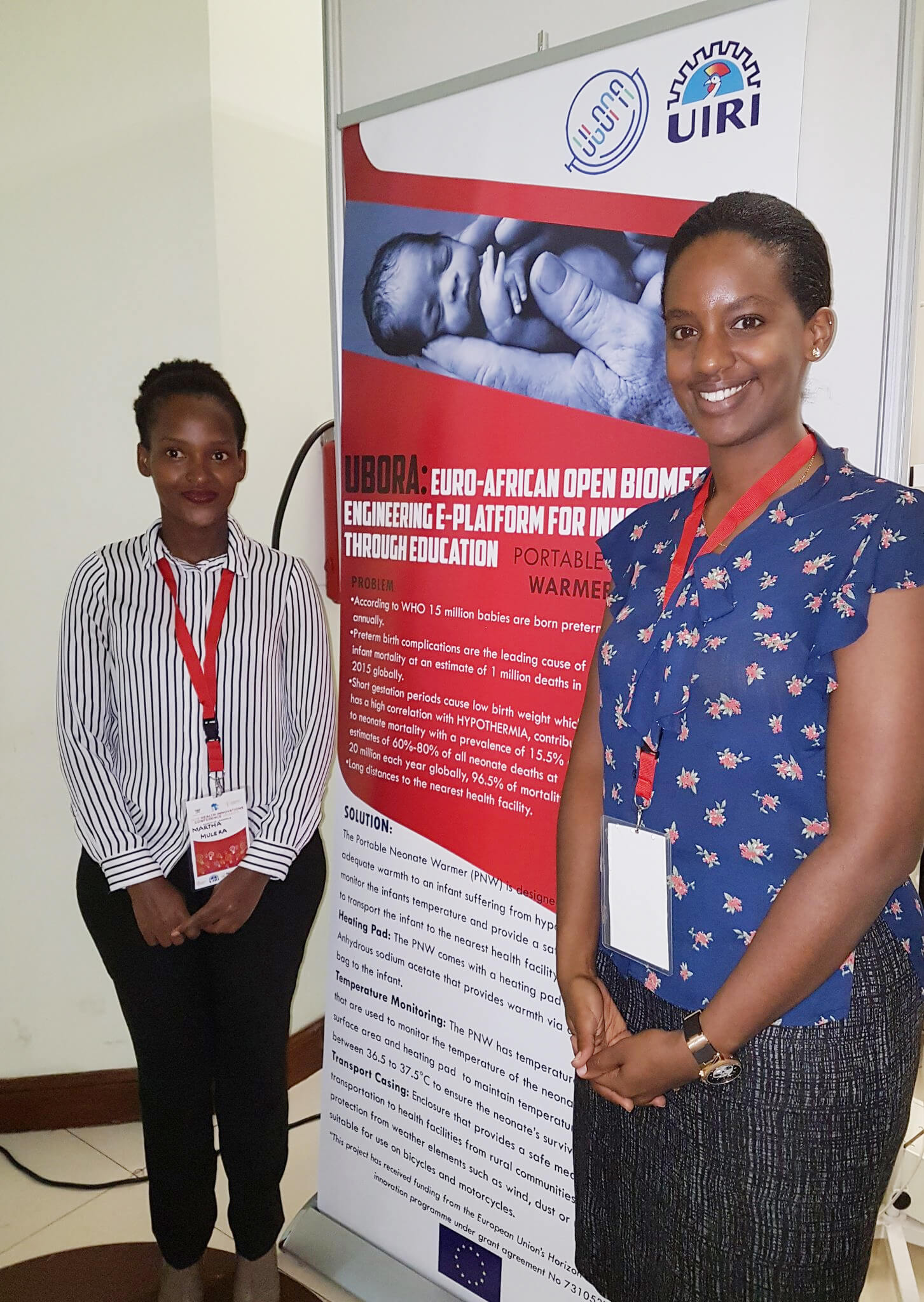 Philippa Makobore of Uganda Industrial Research Institute during the Health Innovations Conference