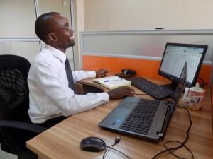 Dr. Charles Namisi, PhD student